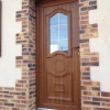 porte d'entree PVC aspect bois