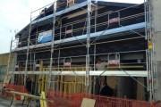 Ossature bois pour rénovation de façade