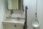 Agencement d'un toilette public
