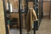 Cloisons alu, habillage mural en OSB et étageres épicea 3 plis