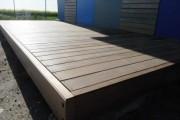 Terrasse en bois exotique huilé