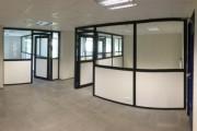 Cloison de bureaux en aluminium et plafond démontables