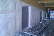 Platrerie et isolation de batiment industriel