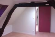 Platrerie et isolation d'une chambre individuelle
