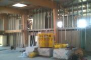 Platrerie et isolation sur chantier