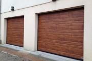 Portes sectionnelles motorisées de style traditionnel